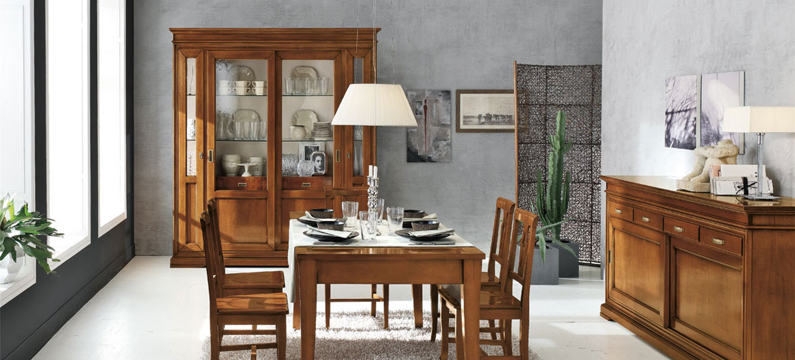Gruppo Inventa, furnish your home in classical style.
